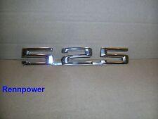 Neu Original BMW Emblem `` 525 `` gesteckt E12 Schriftzug Heckklappe  1869975