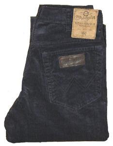 WRANGLER-Texas-Cord-Stretch-Jeans-Hose-Cordhose-braun-W-32-W-33