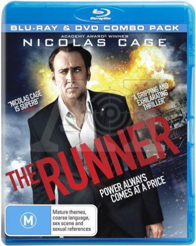 1 of 1 - The Runner (DVD + Blu-ray, 2016) // 2 Discs