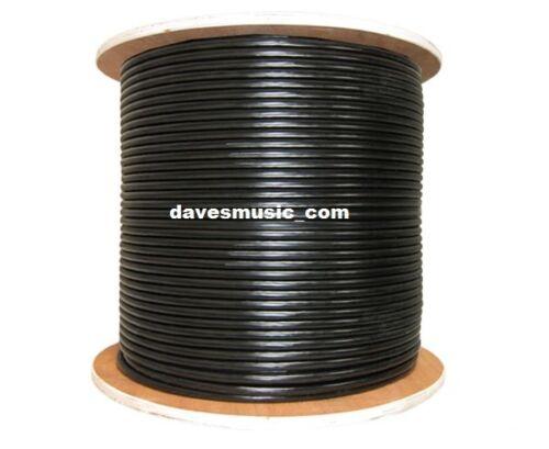 RapcoHorizon MIC1 24GA Balanced  Shielded Microphone Cable 1000 ft Spool US-Made