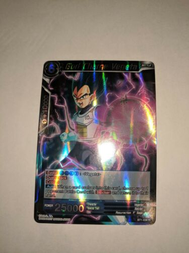 1X NM God Charge Vegeta BT1-036 Rare Dragon Ball Super CCG