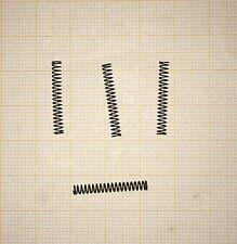 4 x Druckfeder,  Länge 20,5mm, Außen Ø2,82mm, Drahtstärke 0,32mm