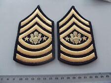 (BB) US Rangabzeichen Sergeant Major of the A. E-9 Blue Dress Männer neue Art