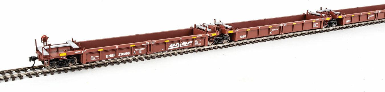 descuento online Escala Walthers Ho Ho Ho Thrall 5 unidad reconstruido 40' Coche BNSF Railway  238298 bien  Web oficial
