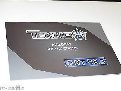 Fiducioso Tkr5406 Tekno Rc Nt48.3 Nitro Truggy Manuale Istruzioni