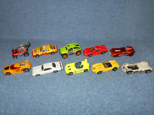 HOT-WHEELS-amp-MATCHBOX-1-64-DIECAST-CAR-LOT-OF-10-ALL-VERY-NICE-CONDITION