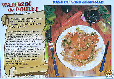 Postcard Nord Pas De Calais Waterzoi Recipe Chicken North Gourmand
