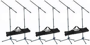 6-St-ADAM-HALL-Mikrofonstativ-incl-3x-Transporttasche-Mikrofonstaender-Tasche