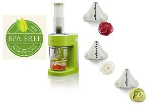 Electric Spiral Cutter 80W - Make vegetable or vegan pasta quickly and easily 4260018039560