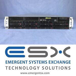 Supermicro CSE-825TQ 2U Case Rackmount Server Chassis 3x Fans 2x 700W PS