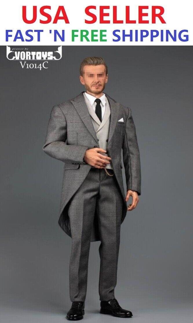 1 6 Gentleman British Royal Tuxedo Suit Set For 12  heiß Spielzeugs WeltBox Figure