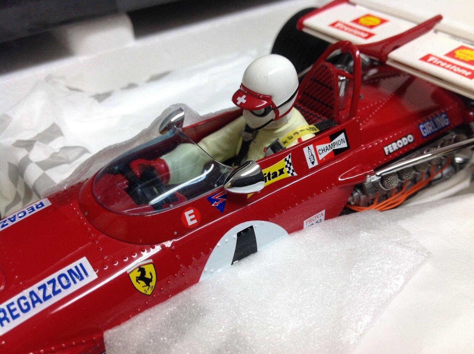 Exoto Ferrari 312 B Clay Regazzoni WINNER  4 1970 GP Inghilterra 1 18 NUOVO 97062