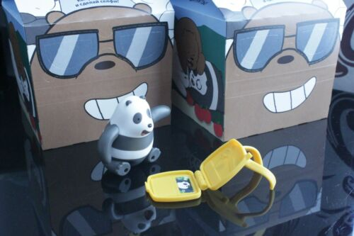 McDonald/'s Toy Happy Meal 2020 We Bare Bears *economical free delivery
