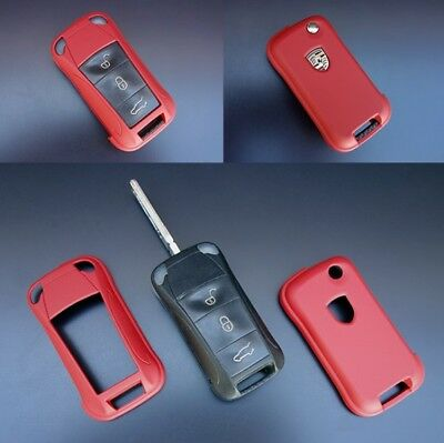Für Porsche Metal Gelb Schlüssel Cover Key Cover Schlüssel Hülle Fernbedienung