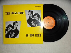LP-THE-GAYLORDS-034-16-big-hits-034-ROCKIN-RECORDS-RR-25017