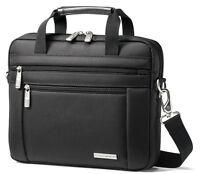 Samsonite Classic Business Case Netbook Shuttle Laptop Briefcase - Black