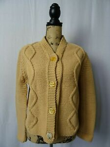 Taglia vintage della donna giacca lavorata mano a 14 da TrFTHwqA