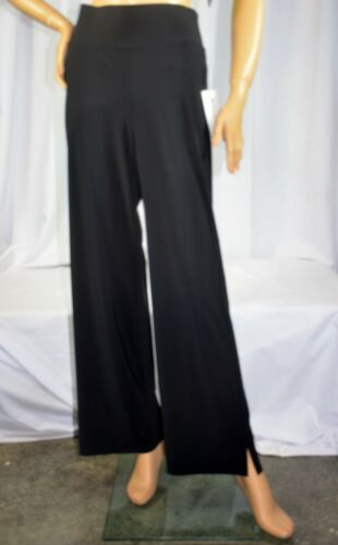 NWT $118 Athleta Size M L LT XL Black Cosmic Wide Leg Pants Travel Work #531089