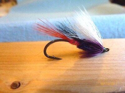 Steelhead Salmon Trout  Brite Butt Pink #4 Flies US Alaska Canada X6
