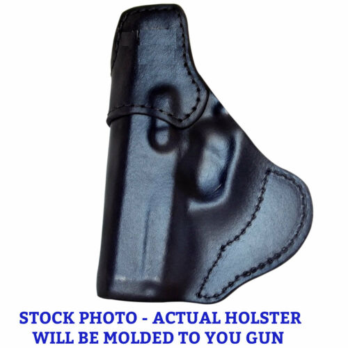 Custom Fit Glock 30S IWB Leather Holster Premium Quality Black or Brown