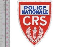 France Police Nationale Compagnies Républicaines de Sécurité CRS Controle de Fou