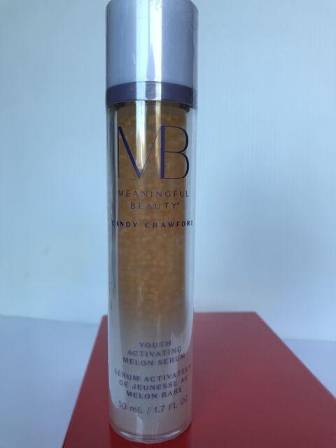 Meaningful Beauty Cindy Crawford Melon Serum Sealed/new Jumbo 1.7OZ MadeInFrance