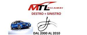 2 CAVI FRENO A MANO POSTERIORE SINISTRO+DESTRO ALFA ROMEO 147 JTD JTDM T. SPARK