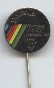 Orig Pin Olympische W Spiele Sarajevo 1984 Sponsor Gorenje
