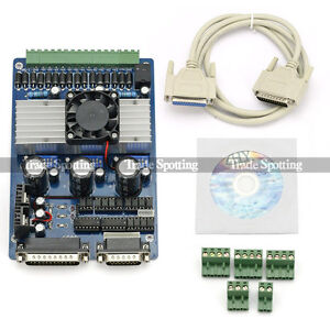 New 3 Axis CNC 3.5A Router TB6560 Stepper Driver Controller for Milling Engraver