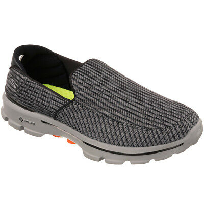 Esclusivo Donna Skechers Go Walk 3 Slipon Charcoal Sneaker