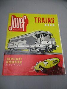 Ak426 Jouef Ho Catalogue 1960 Circuit Routier Electrique Francais Bon Etat