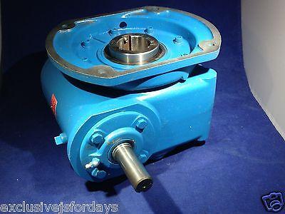 EMERSON MBQ 20:1 GEAR REDUCER 133 frame .523 imput hp 1750 rpm 274 torque