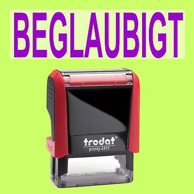 Symbol Der Marke Beglaubigt Trodat Printy Rot 4911 Büro Stempel Kissen Violett In Vielen Stilen Stempel Papier, Büro- & Schreibwaren
