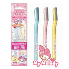 [MY MELODY x SCHICK] Razor for Eyebrow & Facial Hair Removal (3pcs) JAPAN