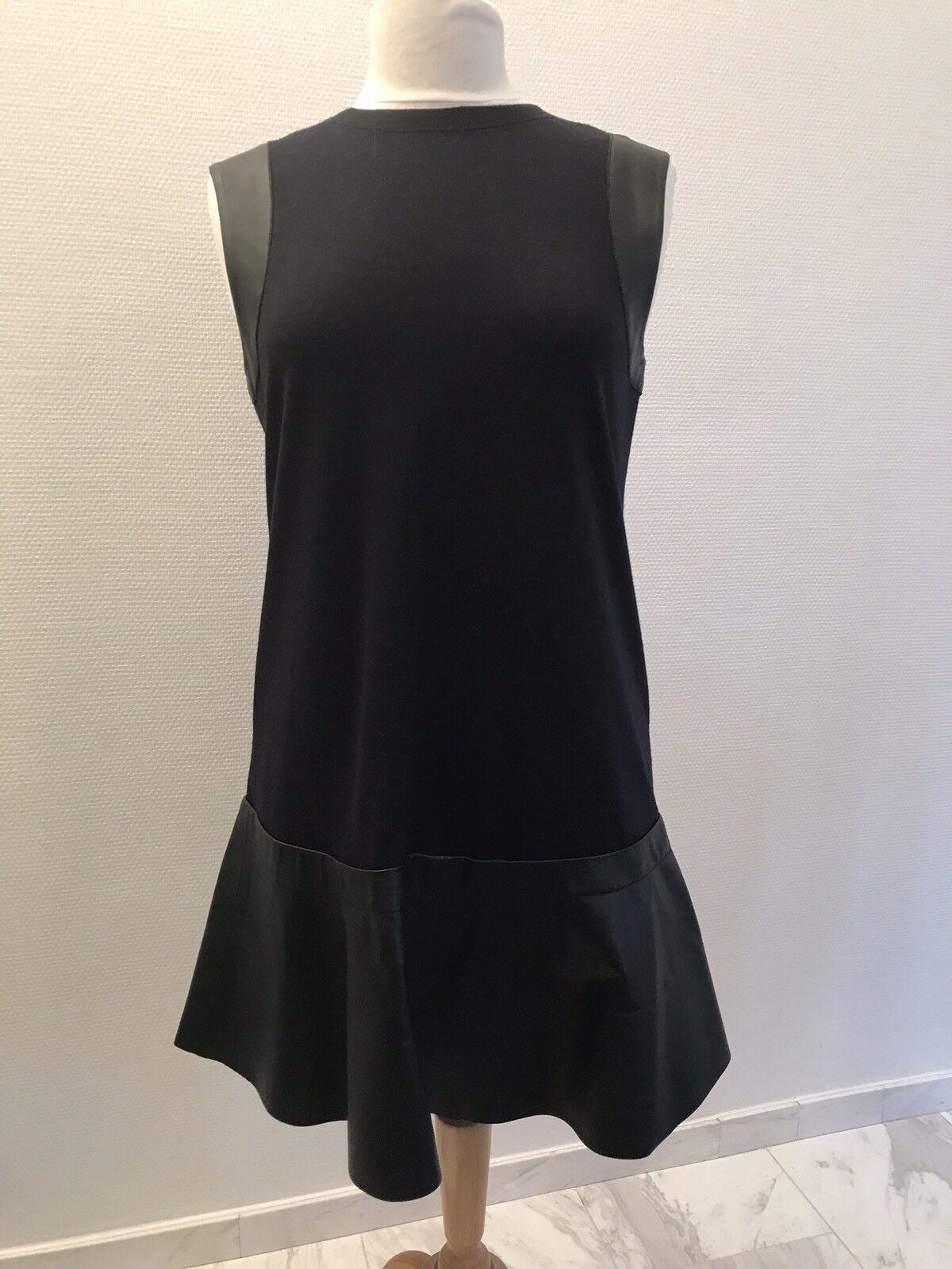 Balenciaga, Traumkleid, Nachtblue-Leder black, Neu Und Ungetragen NP 1350,-