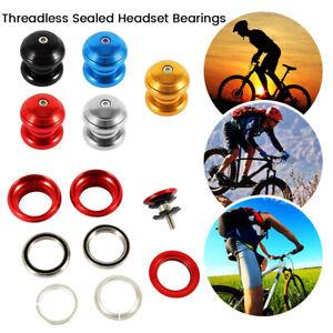 "Threadless External Headset Sealed Cartridge Bearings-1 1//8/"""