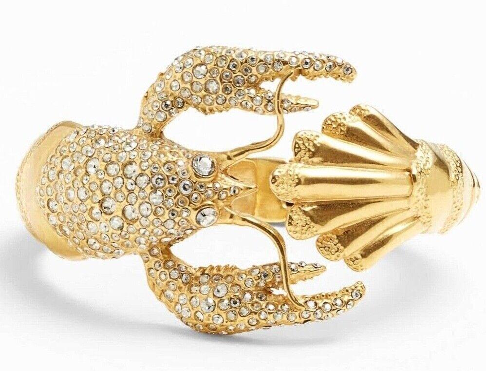 Elements - Maldivian Lobster Bracelet by ALEXIS BITTAR Washed Swarovski Crystal