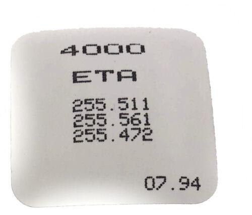 Circuit board ETA 255.241 255.472 255.441 255.481 255.483 255.511 255.561