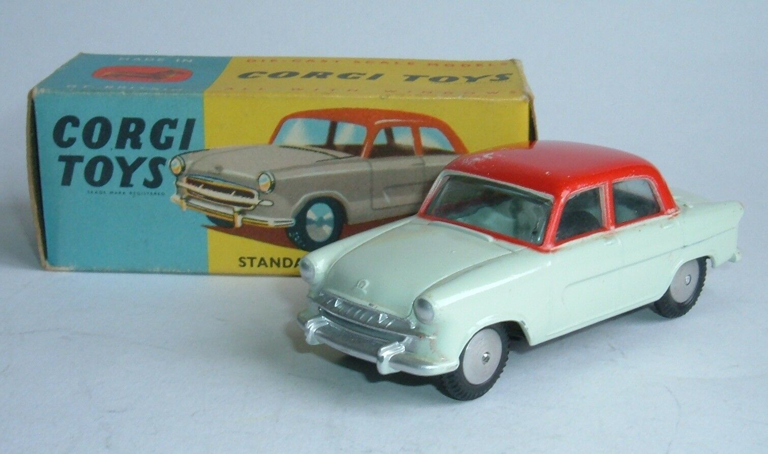 Corgi Toys No. 207, Standard Vanguard III Saloon, - Superb Near Mint.
