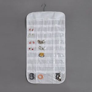 72 Pockets Jewellery Hanging Storage Organizer Bag Closet Display