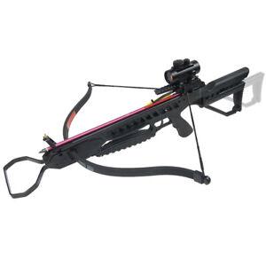 175-lb-Black-Hunting-Crossbow-Archery-Bow-7-Arrows-Bolts-Stringer-Wax-150