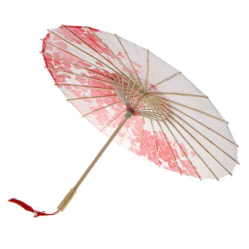 Japanese Chinese Umbrella Parasol for Wedding Parties Costumes Cosplay Decor