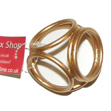 "TheSexShopOnline Metal Male ""Golden Ball Splitter"" Bondage Chastity Device"
