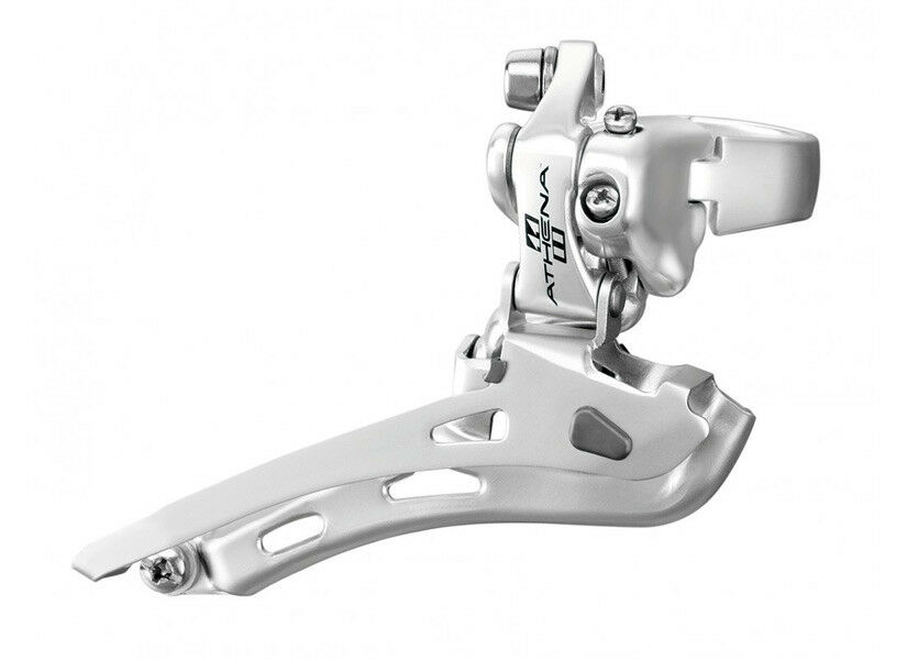 Campagnolo ATHENA 11 Speed Front Derailleur   Silber 35 mm CLAMP FD11-AT2C5