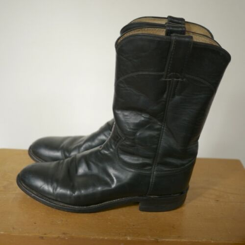 style Leather Black 3133 40 boy bottes de cow de classique Justin 7d campus Usa wxF7AqZZB