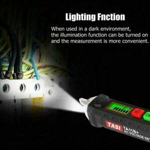 12-1000 V AC//DC Nicht-Kontakt LCD Elektrische Test Detektor Spannung Stift Neu