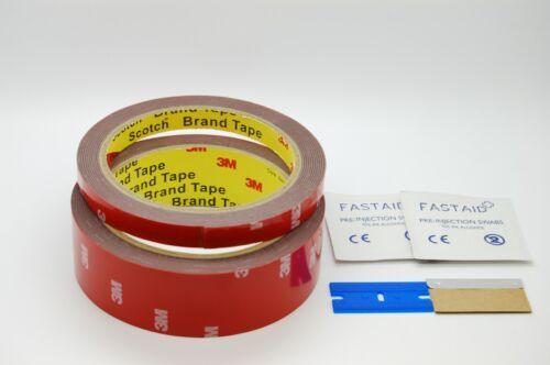 cinta de automóviles 3 M ™ 4229P Paquete de cinta de espuma de doble cara Kit con herramientas 3 M