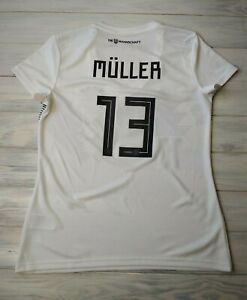 0348587eac6 Muller Germany women soccer jersey 15-16 years 2019 home shirt ...