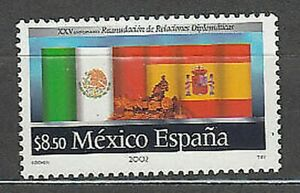 Mexico Mail 2002 Yvert 2025 MNH Flags