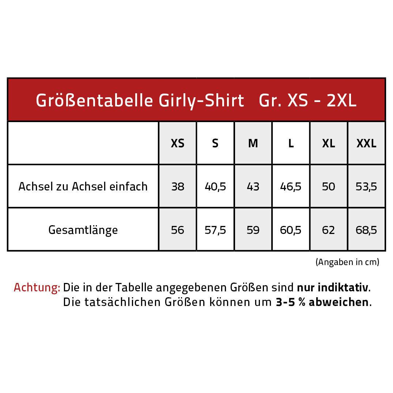 Marken Girly Shirt Damen Rundhals Shirts Xs S M L Xl Pegasus G 12664 weiß
